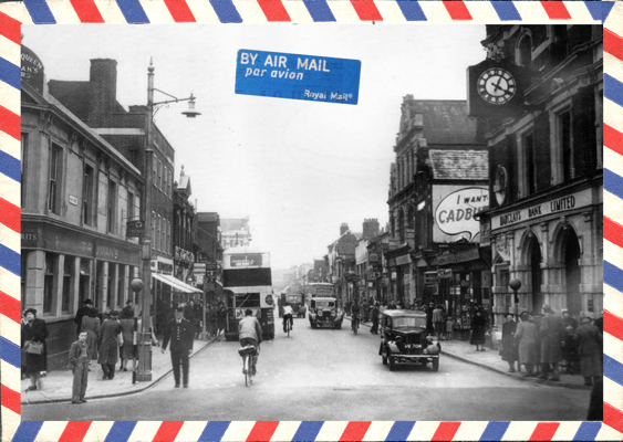 A postcard from J.A. Wells - Gillingham Kent UK