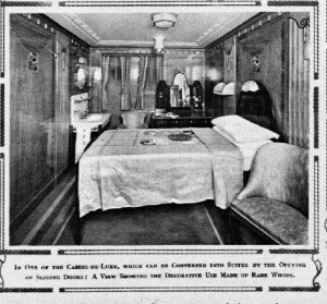 Might this be Mervyn's first class suite on RMS Viceroy of India?