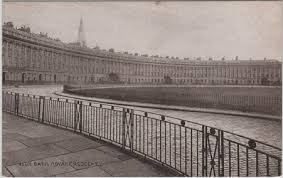 The Royal Crescent, Bath. The home of Ronald Fry until 1919.