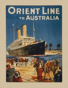 RMS Osterley, The Suez