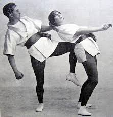 Fred and Ivy performing The Japan Dance