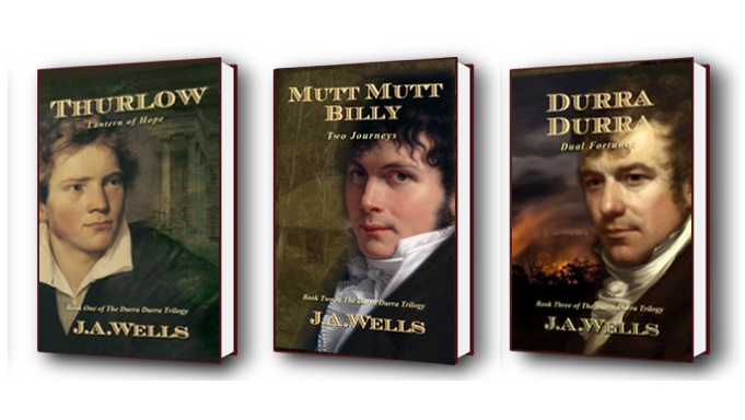 The Durra Durra Trilogy by J.A. Wells