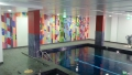 Rhodes View 2  - A John Wells Swimming Pool Mural