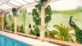 Wimbledon UK  - A John Wells Swimming Pool Mural