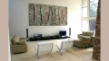 Homage to Pollock situated at Narellan Sydney - A John Wells Artwork on Canvas