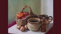 Still Life with Apples and Eggs - A John Wells Mural