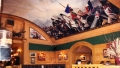 Battle of Waterloo Panorama View 2 - a mural at the Waterloo Tavern UK - A John Wells Mural