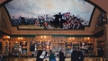 Battle of Waterloo Panorama View 3 - a mural at the Waterloo Tavern UK - A John Wells Mural