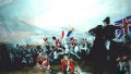 Battle of Waterloo Panorama View 8 - a mural at the Waterloo Tavern UK - A John Wells Mural
