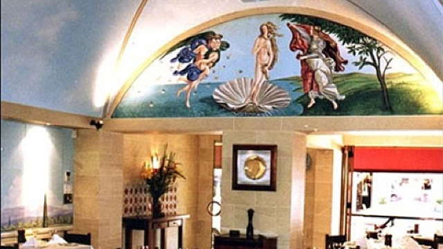 THE BOTTICELLI MURAL